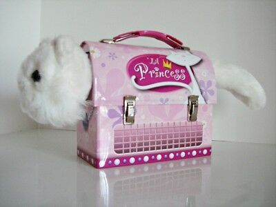 Lil Princess Tin Box Company Rectangular Lunch Box - Ideal for Cat Lovers