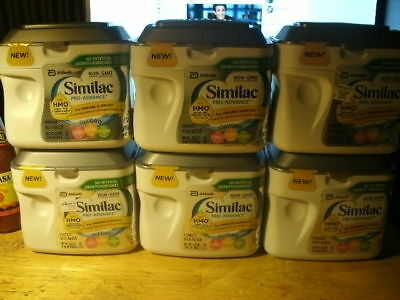 6 New & Sealed Similac Pro-Advance Formulas
