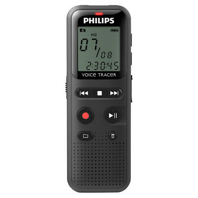 Philips 1150 VoiceTracer Digital Voice Recorder 4GB WAV PCM/ADP voice Activated