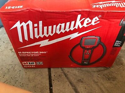 Milwaukee 2313-21 M12 M-Spector 360-Degree Digital Inspection Camera Kit Charger