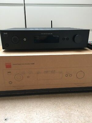 NAD C368 Integrated DAC Digital Amplifier