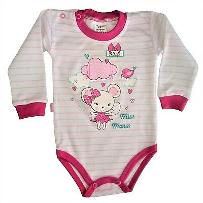 *BNWT* Baby Toddler Girls* Babygrow /Playsuit/ Bodysuit **100% Cotton 6-9 Months