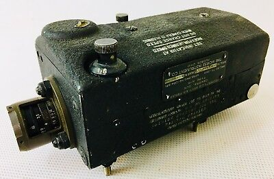 Vintage Ww Ii Army Air Forces Camera Gun Type N-6 The Morse Instrument Co.