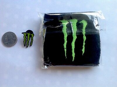 Monster Energy  Drink Hat Pin. Combo You Receive Both Items 🌴🌴🌴 Free Shipping