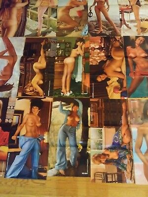 Playboy Magazine 1967 & 1969 Centerfold  Pin-ups! Lot # 5 Lot of 16