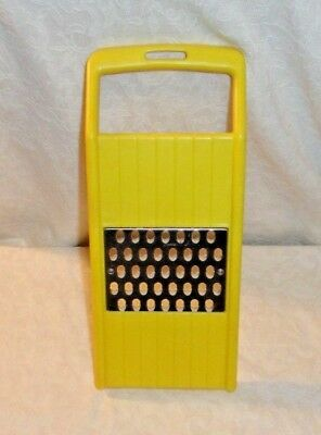 Yellow Rubbermaid Cheese Vegetable Grater Shredder #3085