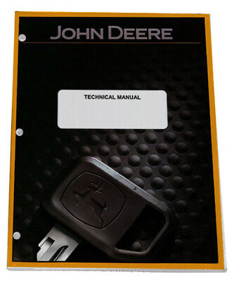 John Deere 4210. 4310, 4410 Utility Tractor Service Technical Manual - TM1985