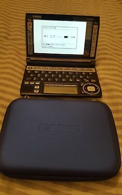 Casio E-A200 Chinese English Translation Dictionary with Blue Case