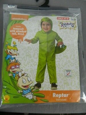 Nickelodeon Rugrats Reptar Toddler Jumpsuit Costume 3T/4T NEW