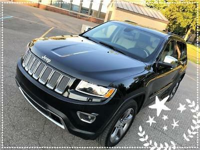 2015 Jeep Grand Cherokee Limited 2015 Jeep Grand Cherokee Limited Rearcam Push2start Navigation Ready No Reserve
