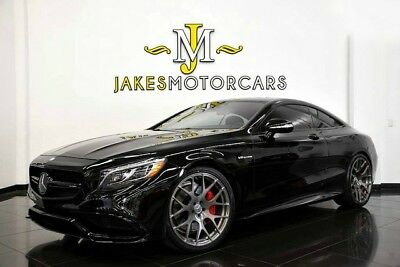 2015 Mercedes-Benz S-Class S63 AMG COUPE***ONE-OF-A-KIND!*** 2015 MERCEDES S63 AMG COUPE~12K MILES! BLACK ON BLACK~ 1-OWNER! ~ ONE-OF-A-KIND!