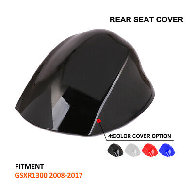 Motorcycle Rear Seat Cover Cowl For Suzuki Hayabusa GSXR1300 GSX1300R 2008-2017