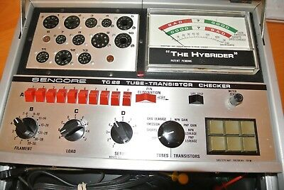 Sencore TC28 Tube Tester - Excellent Condition - Just Calibrated - Must See!