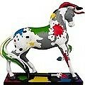 """""""The Artist"""" from The Trail of Painted Ponies RETIRED"""