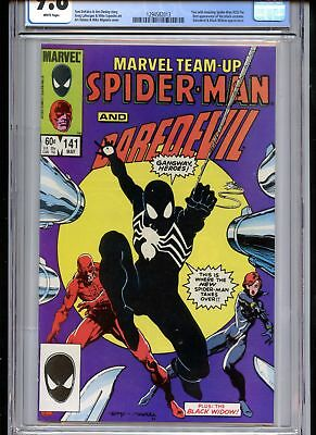 Marvel Team-Up #141 CGC 9.8 White Pages 1st Black Costume (tied with ASM 252)