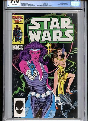 Star Wars #106 CGC 9.8 White Pages Penultimate Issue