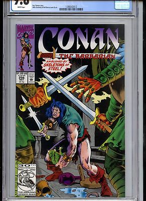Conan the Barbarian #256 CGC 9.8 White Pages