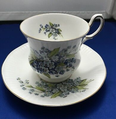Queens Fine Bone China Tea Cup And Saucer