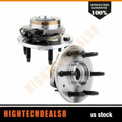 Front Left Or Right Wheel Hub & Bearing Pair for Chevy GMC Cadillac 4WD W/ABS