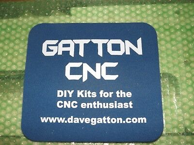 Gatton Cnc Parts Kit Build It Yourself Plans New Never Used Still In Box