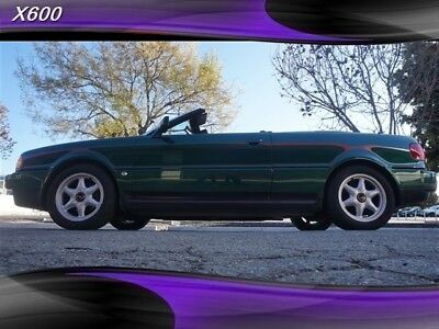 Cabriolet 90K RARE MUST SEE Audi Cabriolet Green with 91,712 Miles, for sale!