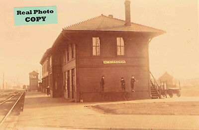 Erie Railroad Depot (train station) & Contol Tower at Huntington, IN Indiana