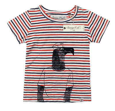 New Infant Boys Sovereign Code Kids Striped Cotton T Shirt Tee 18M