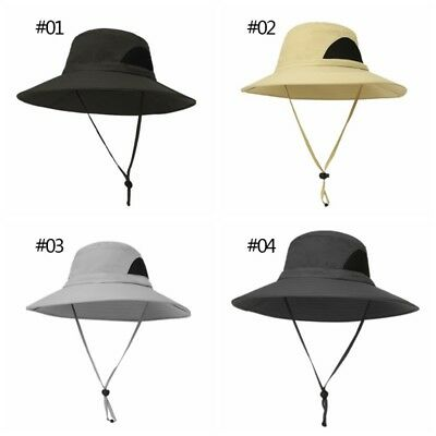 Bucket Hat Tactical Boonie Military Wide Brim Sun Fishing Outdoor Hiking Cap Hat