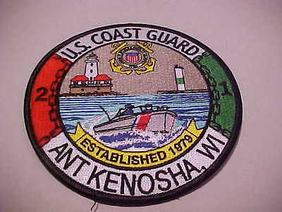 United States Coast Guard Ant Kenosha Wisconsin Patch