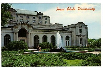 Iowa State University Student Union Vintage Postcard Aug88
