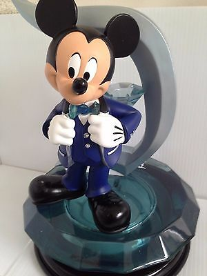 "Disney Big Fig..mickey Mouse Diamond Celebration...with Light-Up Base...13"" Tall"