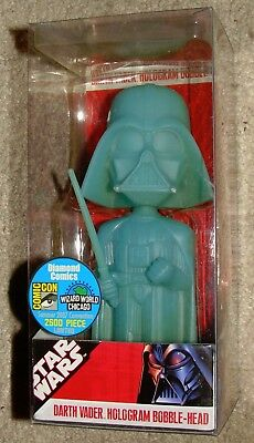Star Wars Darth Vader HOLOGRAM Bobble-Head Comic Con 2007 Convention Limit 2500