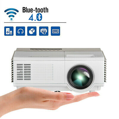 Full HD Android Projector HDMI Xbox Party USB Mini WIFI Bluetooth Home Cinema