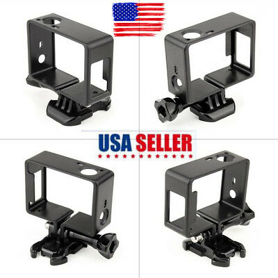 Standard Frame Border Mount Case Cover For GoPro Hero 3/3+ Hero 4 Accessories P*