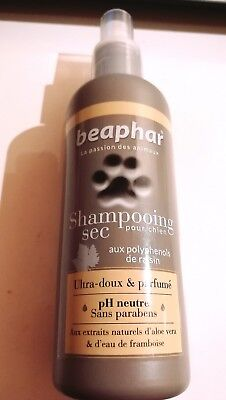 Shampoing sec pour chiens Beaphar