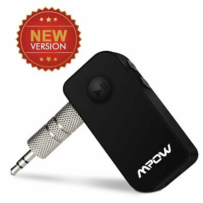 MPOW Bluetooth Wireless 4.1 Receiver 3.5mm Adapter Handsfree Car Kit For iPhone