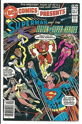 DC COMICS PRESENTS # 13 (Superman and the Legion of Super-Heroes Sept 1979), VF+