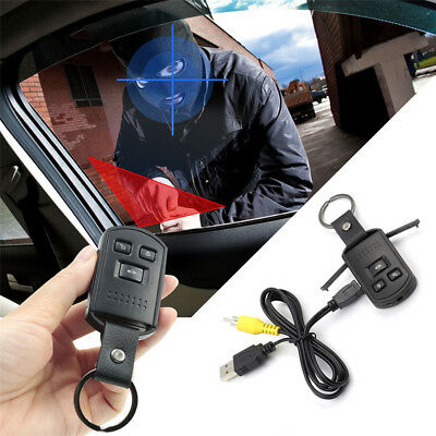 Hidden HD Camera Recorder Fake Remote Motorcycle Key Chain Spy Camera Night View