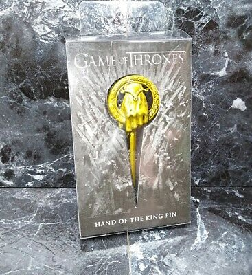 Game of Thrones Hand of The King Metal Pin Lannister Iron Throne Stark broach