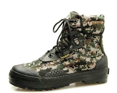 240f5392b Men s camouflage High Tops Canvas Training Military Tactical Combat Boots  Shoes
