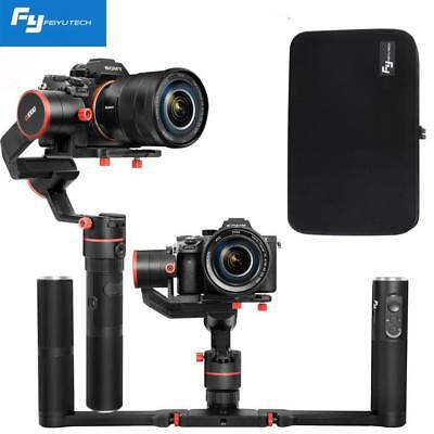 Feiyu a1000 3-Axis Gimbal Dual Handheld Stabilizer 1.7kg Payload fr DSLR Camera
