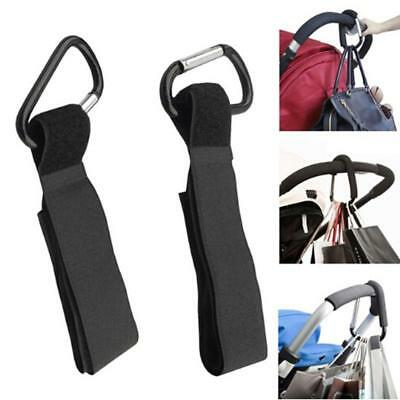 Universal Buggy Clip Baby Pram Pushchair Stroller Hook Shopping Bag Holder C