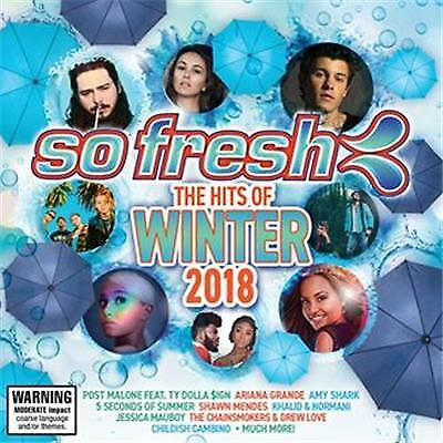 So Fresh The Hits Of Winter 2018 Various Artists Cd Free Post
