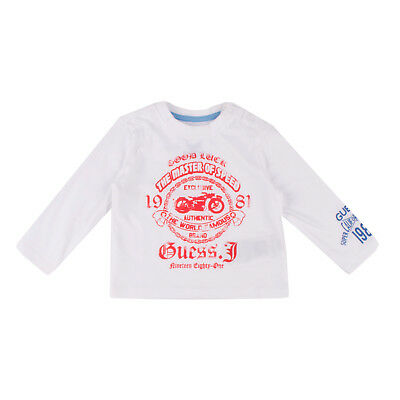 GUESS Top 6M / 9M Printed inscriptions Long Sleeve Crew Neck I73I05K52O0