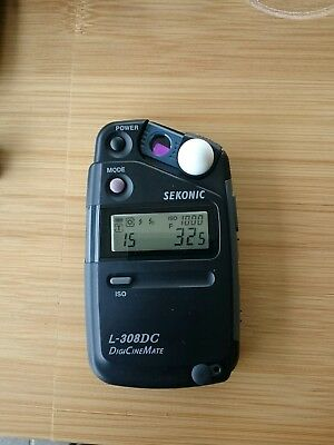 Sekonic L-308DC for videographers ,cinematography& photographers