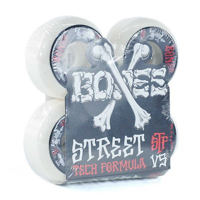 Bones Wheels STF V5 Annuals Series Skateboard Wheels White 52mm Free Delivery