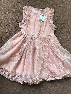Next Girls Party Dress Brand New Age 2-3 Years