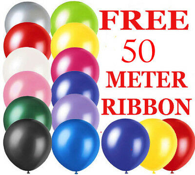 25-100 LARGE PLAIN BALONS BALLON helium BALLOONS Quality Birthday Wedding BALOON