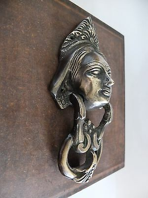 Vintage Antique Style Hand Made Solid Brass  Door Knocker