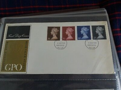 British stamps first day cover 05 Mar 1969